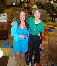 8 Tee bonds with Marfa Mayor's wife
