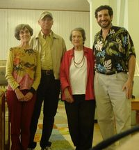 7 Shirley & Rich with Marfa Mayor & wife